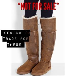 ISO ANY OVER THE KNEE UGG BOOTS